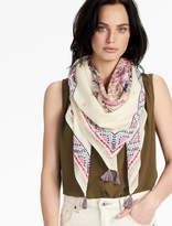Lucky Brand Square Floral Scarf