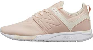 New Balance Womens 247 Classic Trainers Sunrise Glow