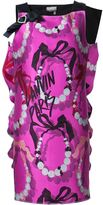 Lanvin bow detail printed dress - women - Silk/Cotton/Polyamide - 38