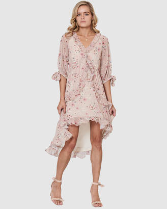 Three of Something Romance Floral Daisy Dress