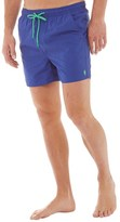 French Connection Mens Tas Contrast Swim Shorts Mazarine Blue