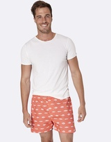 Gone Fishing Red Boxer Shorts