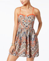 American Rag Racerback Fit & Flare Dress, Created for Macy's