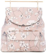M2Malletier flower backpack