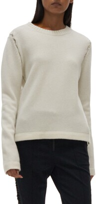 Helmut Lang Wool & Cashmere Crewneck Sweater