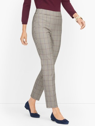 Talbots Chatham Ankle Pants - Turning Plaid