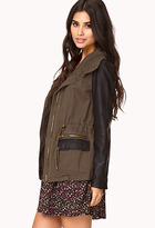 Forever 21 City-Chic Utility Jacket