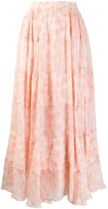 Noon By Noor Printed Maxi Skirt