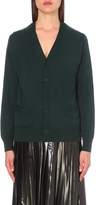 Toga V-neck wool cardigan