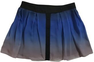 Jonathan Saunders Blue Polyester Skirts