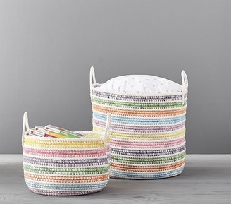Pottery Barn Kids Primary Rainbow Storage