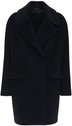 Tagliatore Astrid Angora & Wool Cocoon Midi Coat