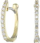 Roberto Coin Women's Perfect Diamond Huggy Earrings Earring