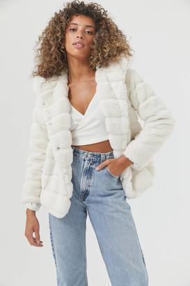 Apparis Goldie Vegan Faux Fur Coat