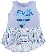 Design History Heart Print Top (Toddler/Kid) - Surprise Lavender-3T