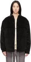 Fear Of God Black Corduroy Sherpa Jacket