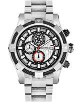Quantum Hunter Men's Quartz Watch with Chronograph Quartz Stainless Steel Coated hng485.330
