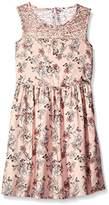 GUESS Girl's J73K06W8MT0 Dress,(Manufacturer Size: 10)