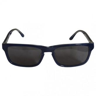 Calvin Klein Blue Plastic Sunglasses