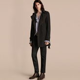 Burberry Trench Coat With Regimental Piping