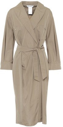 Max Mara Calia cotton wrap dress