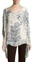 Le Marais Printed Silk Top
