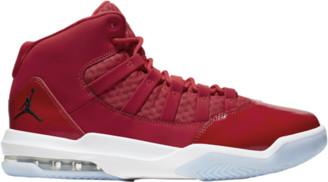 Jordan Max Aura Basketball Shoes - Gym Red / Black White