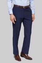 Moss Esq. Regular Fit Blue Stripe Pants