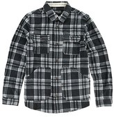 O'Neill Boy's 'Glacier' Check Long Sleeve Fleece Shirt