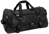 Outdoor Products La Guardia Rolling Travel Bag - Black