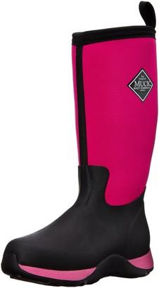 Muck Boot Muck Arctic Adventure Rubber Kids' Snow Boots Pink/Black 7 M US Toddler