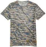 Buffalo David Bitton Men's Faded Wave T-Shirt