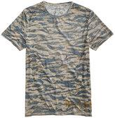 Buffalo David Bitton Men's Faded Wave T-Shirt