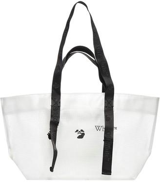 Off-White Logo Shopper Tote Bag