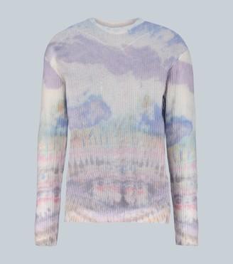 Amiri Cashmere distressed sweater