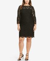 Lauren Ralph Lauren Plus Size Bohemian Sheath Dress