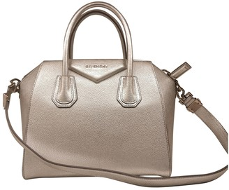 Givenchy Antigona Silver Leather Handbags