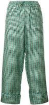Pierre Louis Mascia Pierre-Louis Mascia cropped tailored trousers