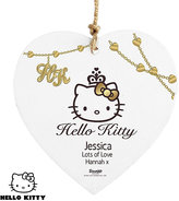 Hello Kitty Personalised Chic Wooden Heart Decoration