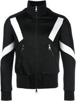 Neil Barrett panelled sports jacket