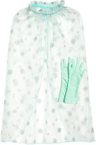 H&M Cape and Gloves - Mint green - Kids