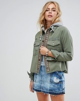 Free People Weekend Wanderer Cargo Jacket