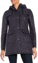 Larry Levine Swirl Quilted Jacket