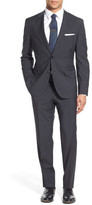 HUGO BOSS Johnstons/Lenon Two Button Notch Lapel Trim Fit Wool Suit