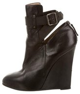 Proenza Schouler Leather Wedge Booties