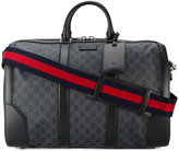 Gucci Monogram Printed Weekend Bag - men - Cotton/Leather/Polyurethane - One Size
