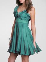 Chiffon Ruffle Party Dress