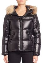 SAM. Blake Fur-Trim Down Puffer Jacket