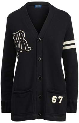 Ralph Lauren Patchwork Cotton Cardigan