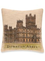 Bed Bath & Beyond Downton Abbey® Castle Square Throw Pillow in Natural